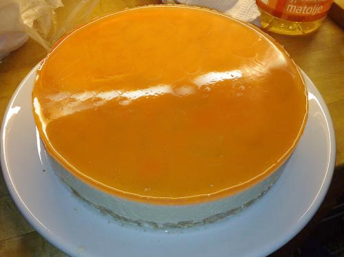 Orange Cheesecake picture