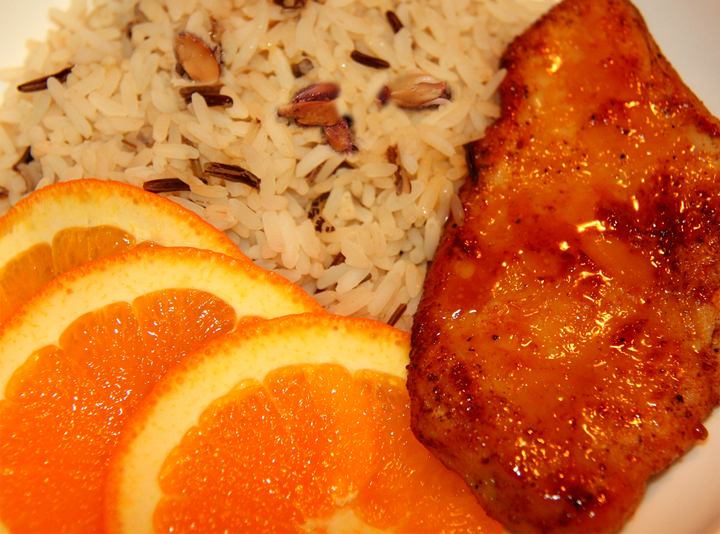 Orange Chicken Delicious picture