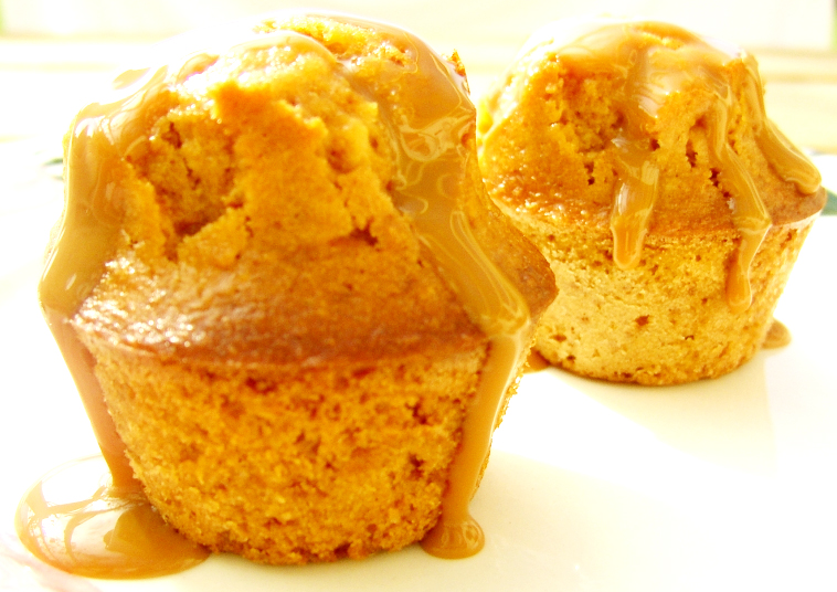 Miniature Glazed Orange Muffins picture