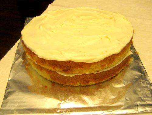 Orange Layer Cake picture