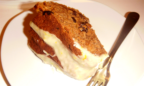 Orange Raisin Whole Wheat Cake picture