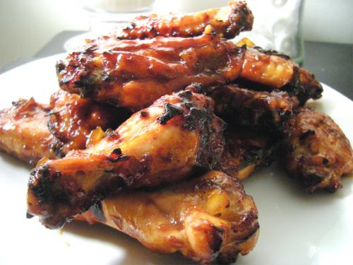Outdoor-Barbecued Chicken picture