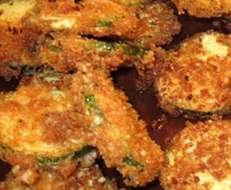 Oven Fried Zucchini Chips picture