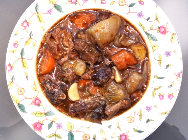 Oxtail Cooked with Grapes picture