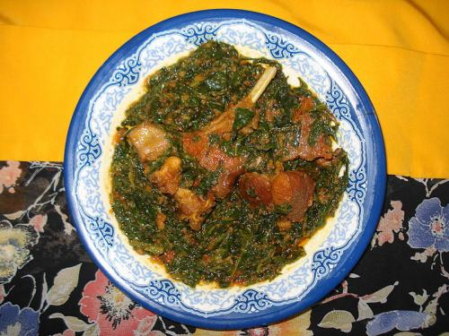 Saag Meat picture