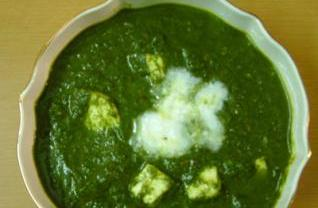 Palak Paneer (Spinach & Cheese) picture