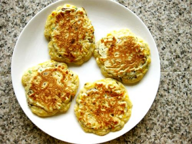 Pan-Fried Corn Cakes picture