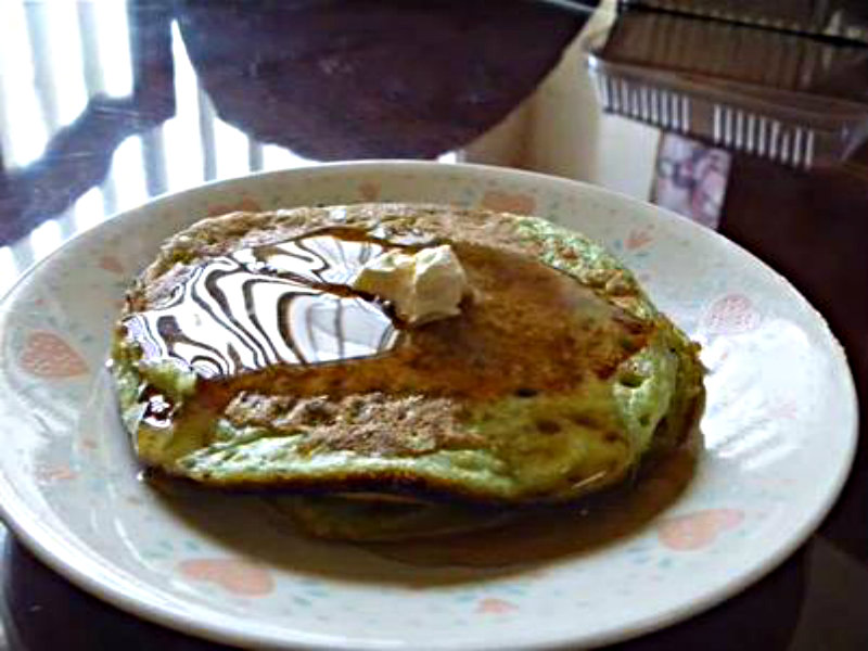 Green Tea Matcha Pancakes picture