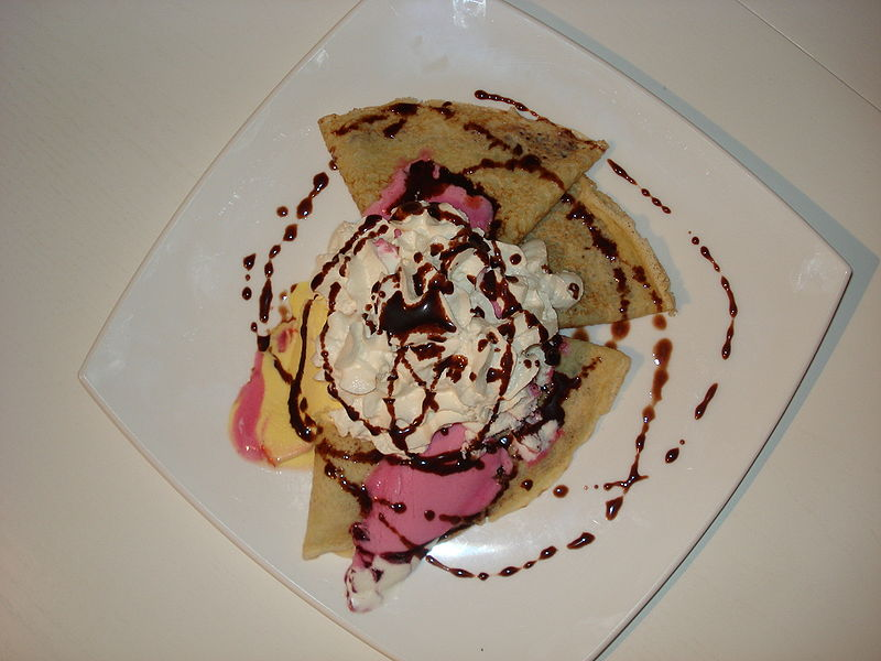 Ice Cream Pancakes    picture