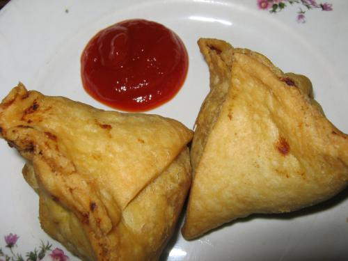 Paneer And Vegetable Samosas picture