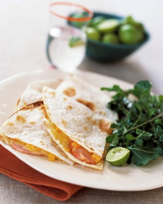 Brie and Papaya Tortillas picture