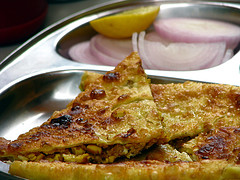 Potato Parathas picture