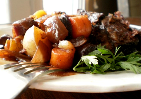 Parsleyed Oven Pot Roast picture