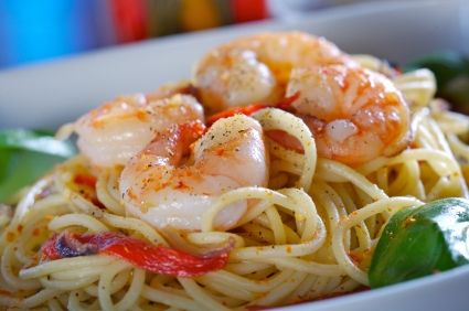 Olive Garden- Pasta with shrimps picture
