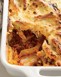 Greek Baked Pasta picture