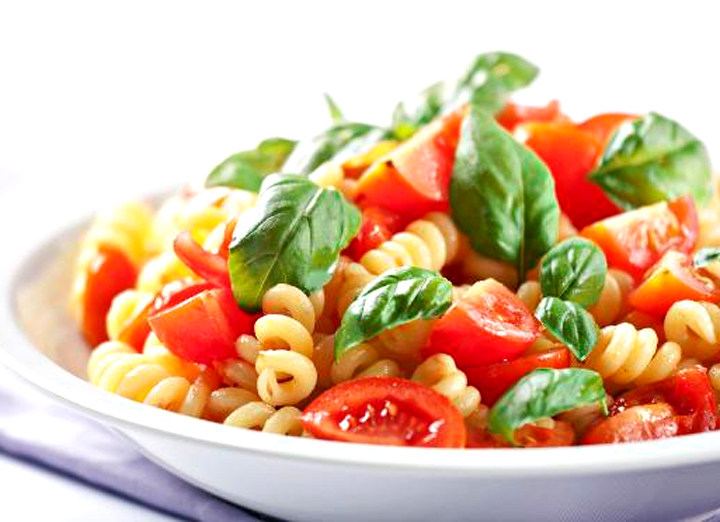 Pasta With Fresh Tomatoes picture
