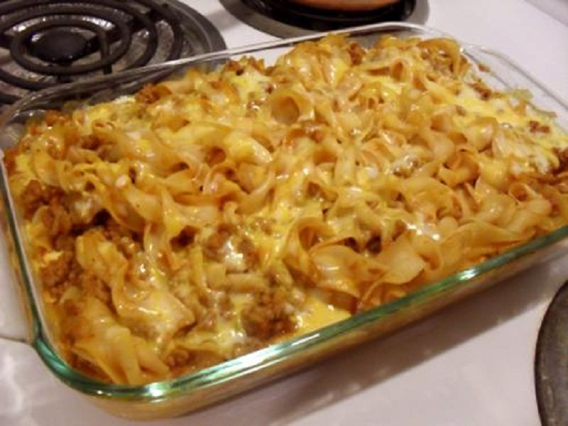 Paste Casserole With Mozzarella picture