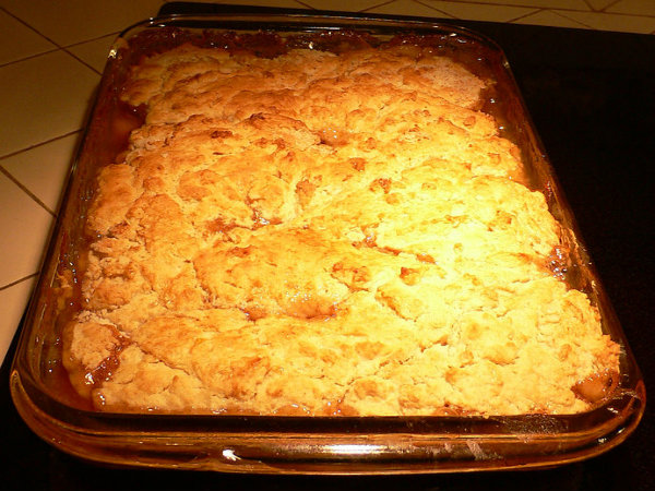 Peach Berry Cobbler picture