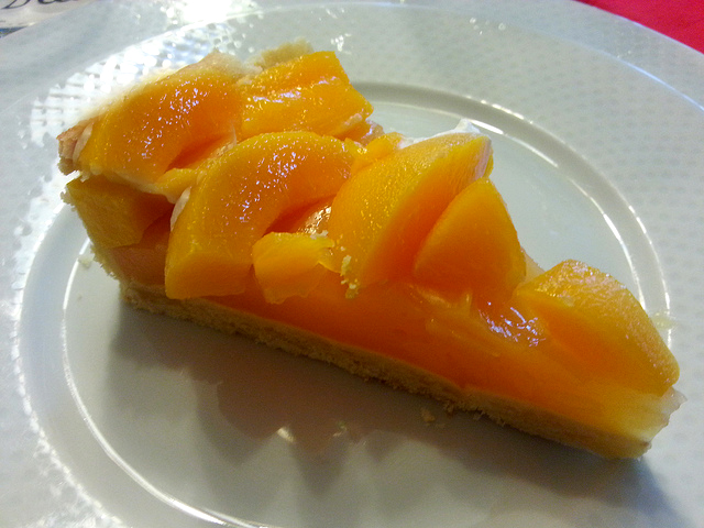 Peach Dessert Cake picture