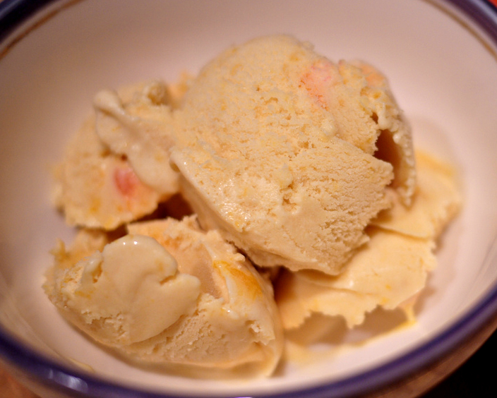 Peach Ice Cream picture