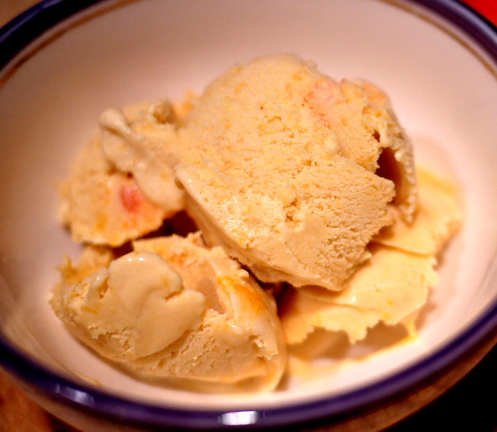 Peach Ice Cream Superb picture