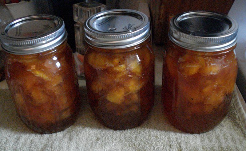 Pickled Peaches With Brown Sugar picture