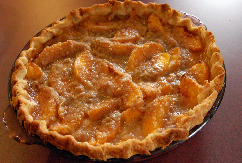 Sinful & Fresh Peach Pie picture