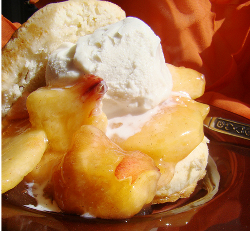 Peach Shortcake  picture