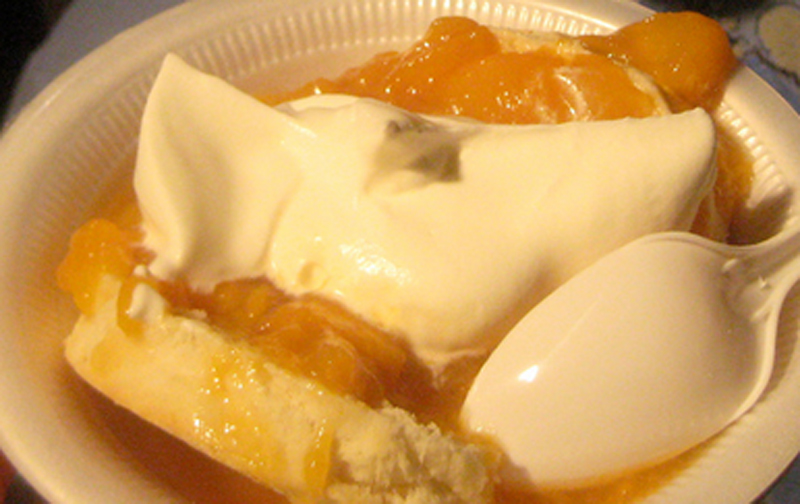 Easy Peach Shortcake picture