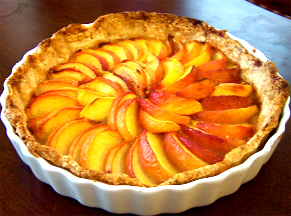 Country Peach Tart picture