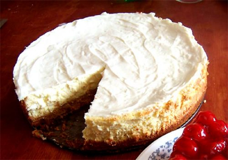 Pear Cheesecake Pie picture