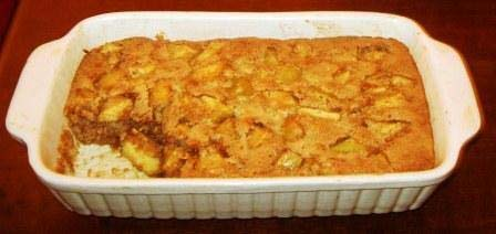 Pear Cobbler picture