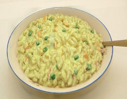 Peas & Cheese Salad picture