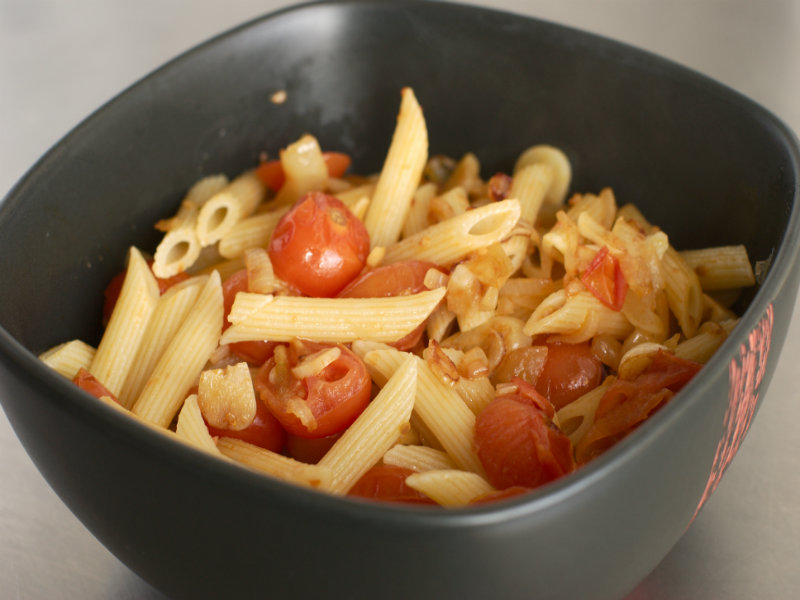 Penne With Oven Dried Tomatoes picture