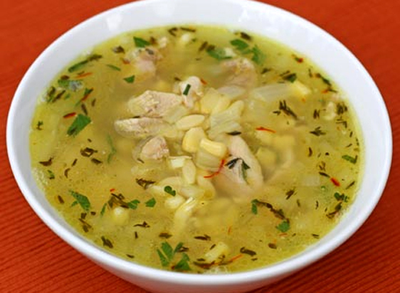 Pennsylvania Dutch Chicken and Corn Soup picture