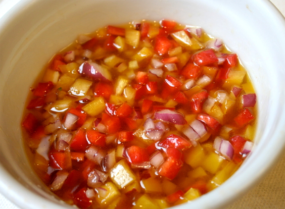 Simple Pepper Onion Relish picture