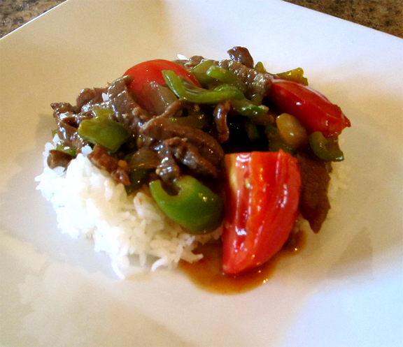 Chinese Pepper Beef picture