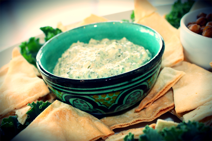 Pesto Spinach Dip picture