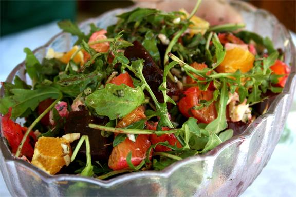 приготовление необычных салатов с фото