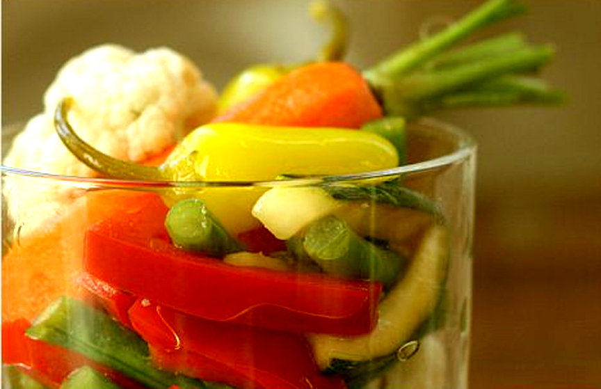Pickled Marinated Vegetables picture
