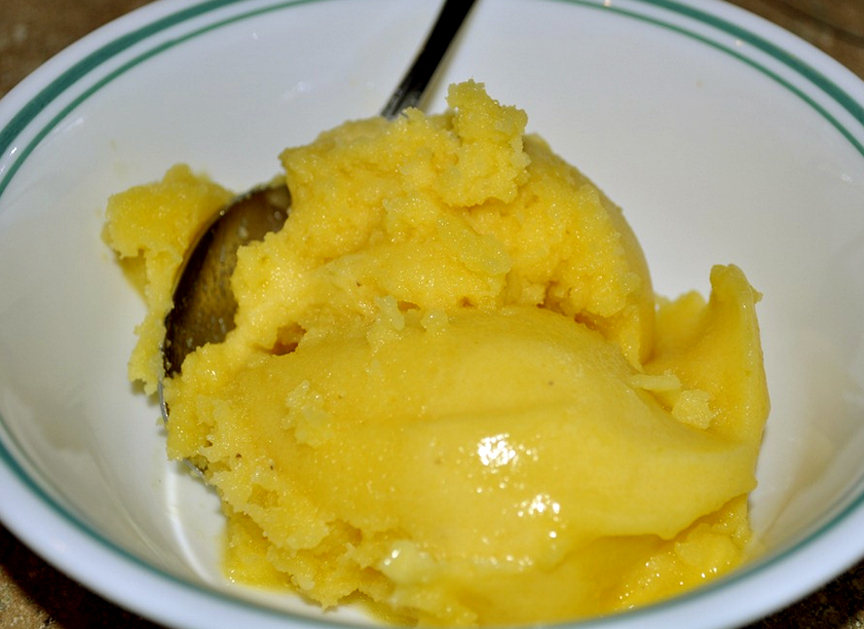 Buttermilk Or Yogurt Pineapple Sherbet picture