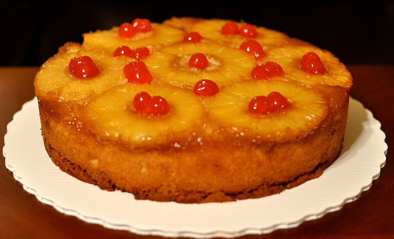Pineapple Upside Down Cake Bottom picture