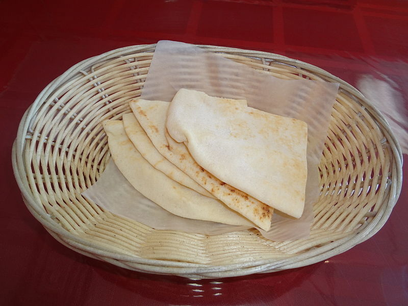 Syrian Or Lebanese Bread picture