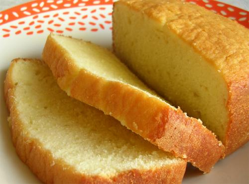 Plain Good Vanilla Pound Cake picture