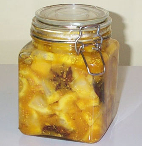 Plain Lemon Pickle  picture