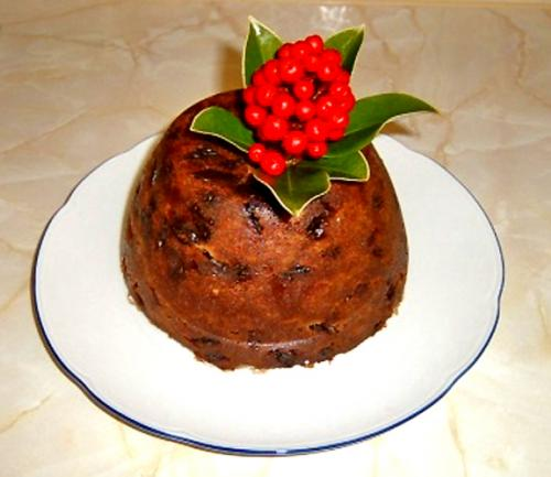 Microwave Christmas Plum Pudding picture