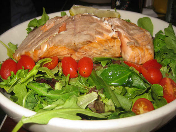 Poached Salmon picture