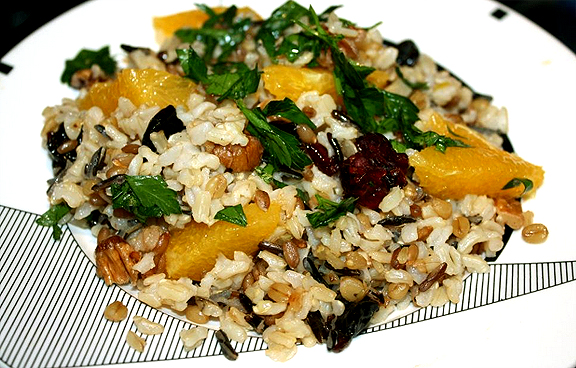 Polynesian Orange Rice picture
