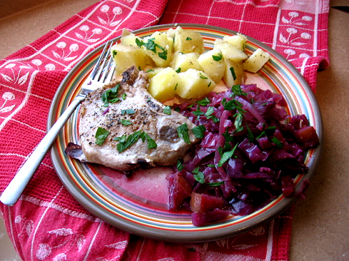 Pork With Red Cabbage picture