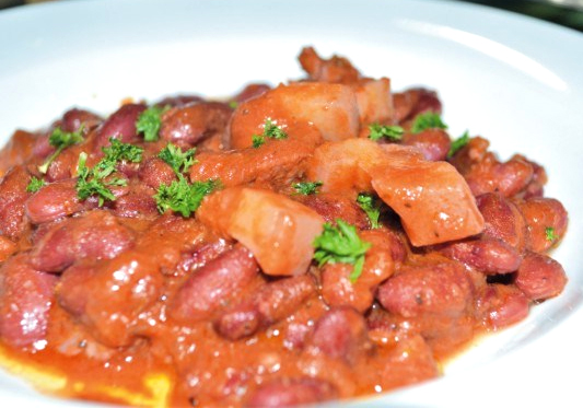Pork and Beans Spanish Style picture